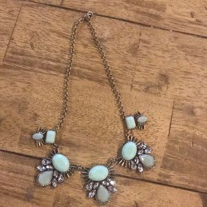 NWT Bay to Baubles Leapona Gem Statement Necklace